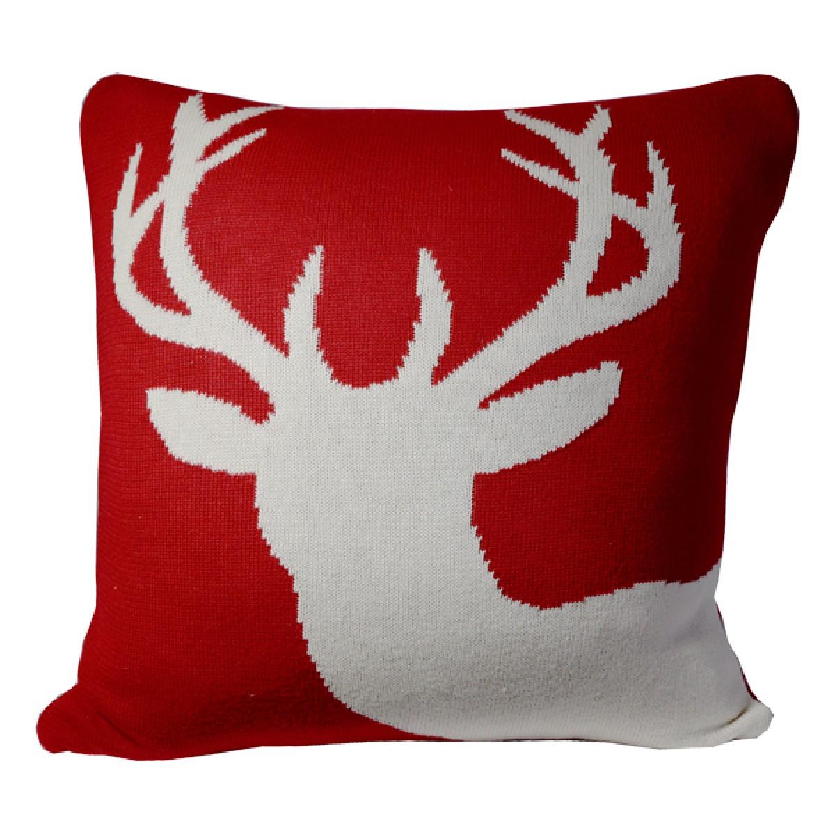 White Face Deer cheap decorative pillows cute throw pillows Deer decorative pillows